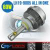 LW H1/H3/H4/H7/H8/H9/H10/H11/H13/9004/9005/9006/9007/9012 6000K waterproof automotive headlight reflector
