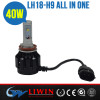 LW Car Accessories China Wholesale A Built-In Fan H9 Auto Headlight Kit