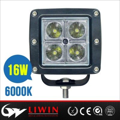 High bright 3.0inch IP67 6000K led work lamp ofroad 16W led work light for truck, suv