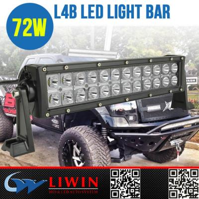 LW super offroad led spot light bar L4B-72WE 13.5 inch 3w double row light