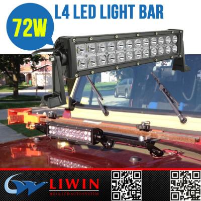 LW super amber led mini light bar L4B-72WE 13.5 inch led driving bar