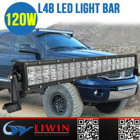 LW super led flashing light bar L4B-120WC led auto bar 3w led bar offroad