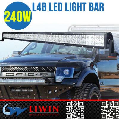 LW 50% discount 9-32v light bar led led off road 4x4 IP67 led flexible bar