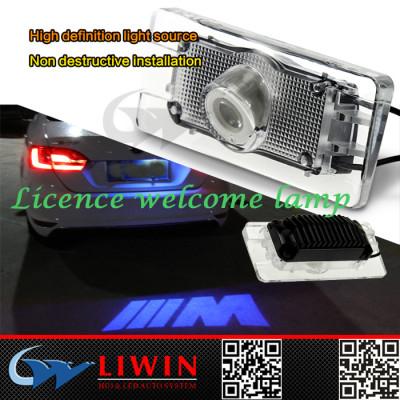 lw 12V High quality auto logo light 5watt Licence plate logo light