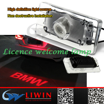 lw 12v 5w LIWINcar logo light led car emblem for bmw