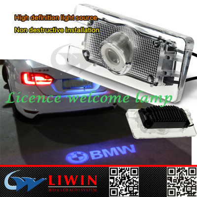 2015 5w back led ghost shadow car logo light