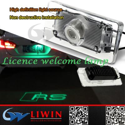 2015 fashionable led car logo 5w car shadow lights for audi