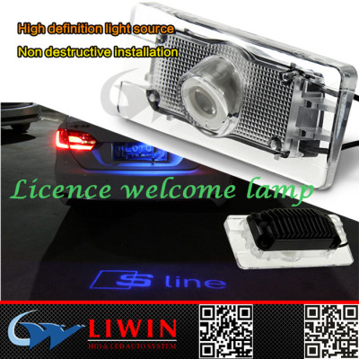 TOP sales-newest design ghost shadow rear light / fashionable laser light logo-laser car logo tail light