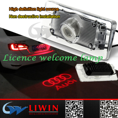 AUTO LIGHTING PARTS-newest design ghost crystal car logo with names - car logo ghost shadow tail light
