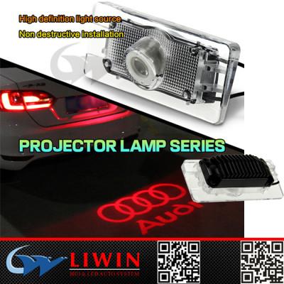 2015 best selling led laser car logo light 5w Licence welcome lamp for audi