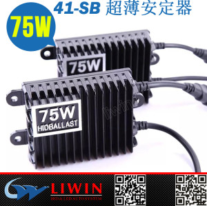 LW HID氙气灯75W100W快启安定器 大功率疝气灯狩猎灯打猎灯钓鱼灯