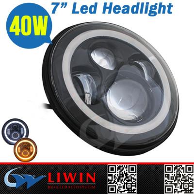 Liwin good quality OEM Service 7inch led headlight flood beam 40w led auto headlight