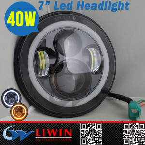 Liwin ce e-mark offer high power led car headlight 7inch 40w 3200lm car light accessories led projector headlight