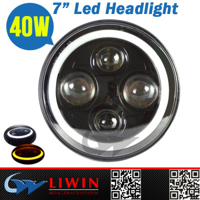 Liwin china supplier 7 inch round led headlight 12v 24v super bright led atv light