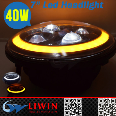 LW super bright round led sealed beam headlight fog light 7
