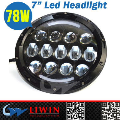Liwin China brand Waterproof Powerful 78W car led work light led front headlight for wholesale SUV cheap used car in japan