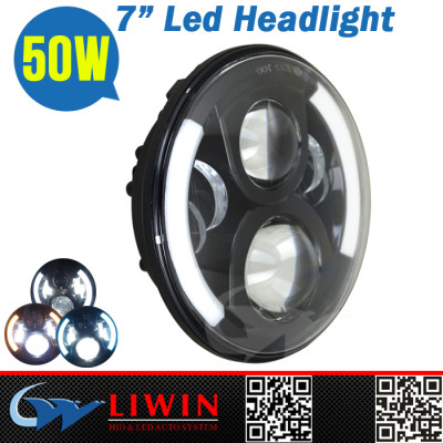 Super Brigtness 4000LM motorcycle car led bus headlights LW-LH0750A 50w interior led lights car