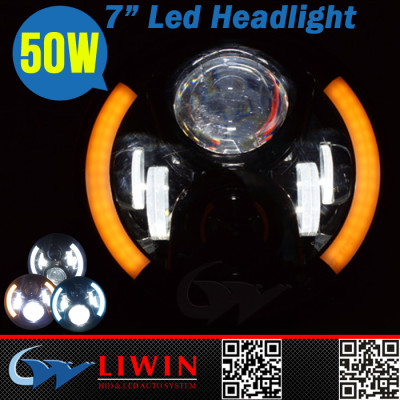 New upgrade 40000h long life auto accessories led headlight system 50w cr-ee led warning lights
