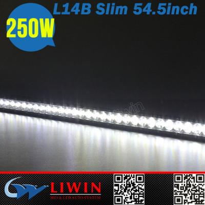 China manufacturer 12v emergency warning light 54.5inch 4x4 suv atv off road truck off road light bar