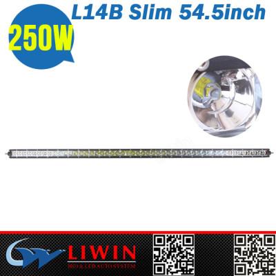 LW good quality 54.5inch 250w 6000k waterproof waring led off road light bar