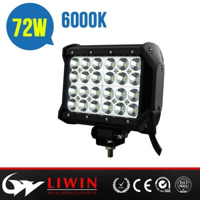 stable quality lightbar 72w four row led light bar dual row led light bar for truck light Atv SUV tractor lights