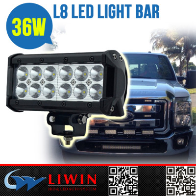 LW 36w granulated light led bar auto led light bar thin led light bar for motorcycle ATV SUV bus bulb