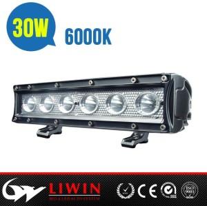 Liwin latest design 30w cree led offroad light bar 10.5inch aluminium led light bar