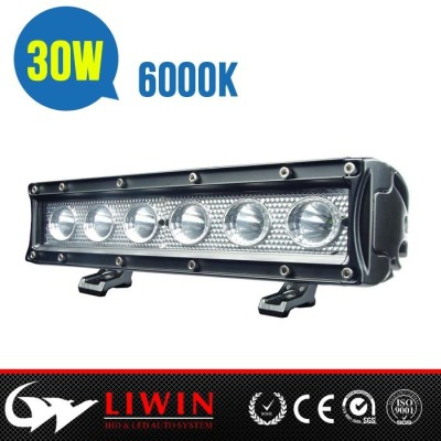 Liwin latest design 30w cree led offroad light bar 10.5inch aluminium led light bar
