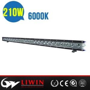 LW hot sale Cree chip 210w 10-30v led light bar 67.5inch rgb off road led light bar dj lights