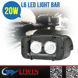 LW10-30V 20w cree offroad led light bar Popular Selling 20w led rigid stage bar lighting offroad led light bar L6-20W for motorcycle Atv