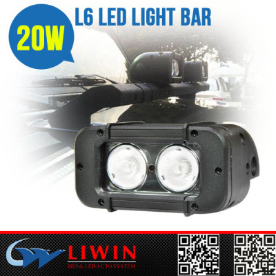 LW10-30V 20w cree offroad led light bar Popular Selling 20w led rigid stage bar lighting offroad led light bar L6-20W for motorcycle Atv