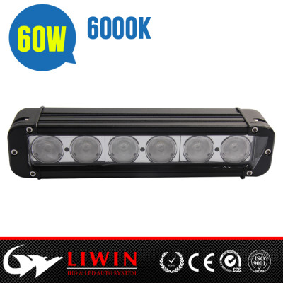 LW 10-30v truck led light bar 60w IP67 Liwin 2015 most popular 10w/pcs lw offroad led light bar 12v led off road light bar 12v led light bars for trucks auto bulbs