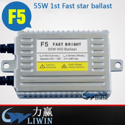 LW good quality hid xenon ballast F5 Fast star original 55w hid ballast for chevy