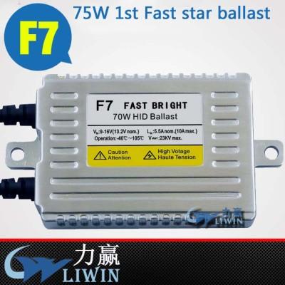 Liwin Factory Direct Sale canbus hid xenon ballast F7 70W original oem matsushita ballast