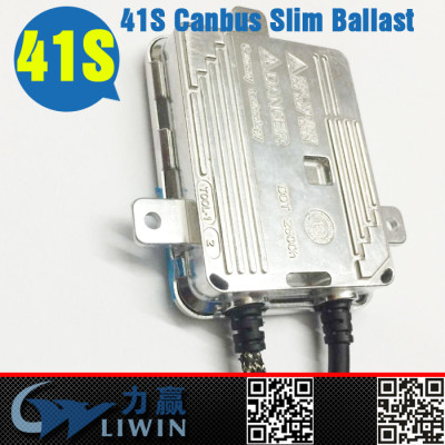 liwin china 41s high quality hid xenon kit 35W 55W canbus slim ballast for sale