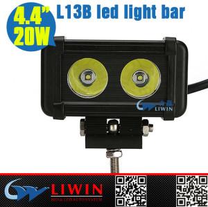 Liwin 10-30v led single row 4x4 4.4inch led light bar IP67 20w head lamp china supplier tail bulbs