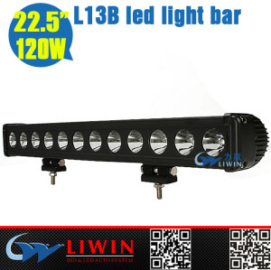 Liwin china supplier 100% factory wholesale price led light bar for EQUUS auto 10-30v 22.5inch auto parts accessory car bulb 120w single bar