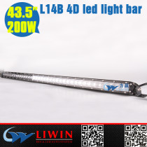 LIWIN 10-30v 43.5inch 200w led driving light bars for motorcycle ATV motorcycle accessory automobile lights front light ip67 led light bar offroad light bar