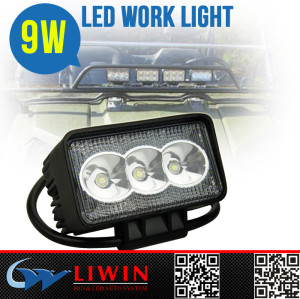 wholesale hottest led flexible cage work light 9w LIWIN hight quality super bright portable led work lamp for car,truck,suv