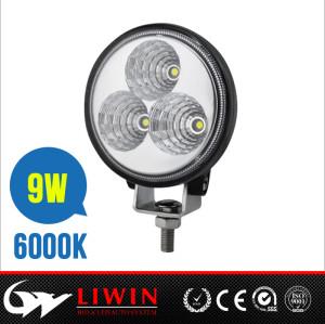 factory wholesale top led offroad work light 10-30v 3.2inch 9w 12v car led light bars