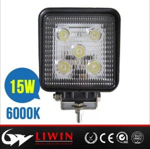 lw 10-30v best price auto hid work light 4.3inch 15w led flood work light