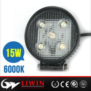 Install light resource easily industrial work light 10-30v 4.6inch 15w aluminium led work light