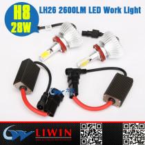 China hottest work light led 12v 28w  2600lm LH26-H8 headlight manufacturers