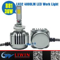 100% high quality led work lamp IP67 36W 4800LM 881 single light led healdight for car