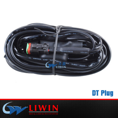best price hid truck work lights Off road led work light bar DT Male Plug automotive wire harness