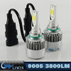China Manufacturer Auto Headlight 9005 led working light IP67 led auto headlight kit