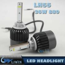 New Product 36W Motorcycle Car Led Headlight H3 H4 H7 H8 H11 H13 9004 9007 880 4000LM led vehicle headlight