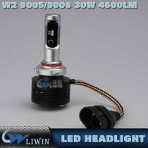 30W Super Bright Led Headlight Bulb 9005 9006 12-24V Black Color Led Motorcycle Car Led Headlight 4600lm