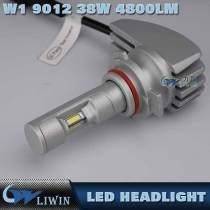 Auto Accessory Car LED Headlight Kit 38W H11 9007 9004 H13 H4 LED Headlight With Yello, Blue And White Led 4800LM Cars Headlight