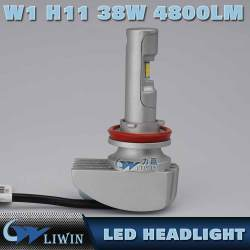 Auto Parts, Led Hot Super White LED Headlight H1 H4 H13 H16 880 HB3 D1 COB/p hillips Comin 38w 12V 24V 9600LM H7 Car Light